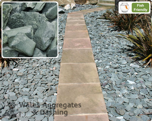 Welsh Slate Chippings From Wales Aggregates Amp Dashing